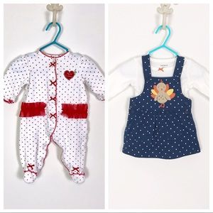 Christmas Thanksgiving Holiday Outfits Baby Girl